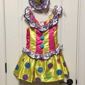 Girls Clown dress